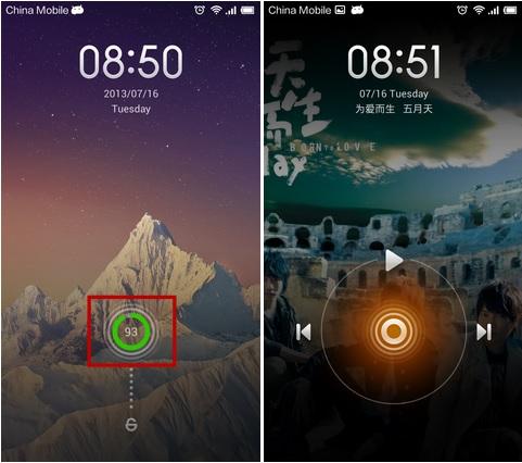 Music-Player-Lockscreen