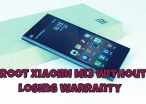 Root Xiaomi Mi3 Without Losing Warranty