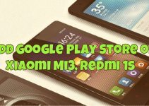 Add Google Play Store on Xiaomi Mi3, Redmi 1s