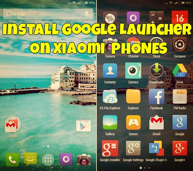 Install Google Launcher on Xiaomi