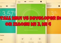Install MIUI v6 Developer ROM on Xiaomi Mi 3, Mi 4