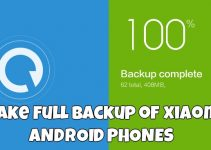 Take Full Backup of Xiaomi MIUI 6