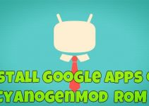 Install Google Apps on CyanogenMod