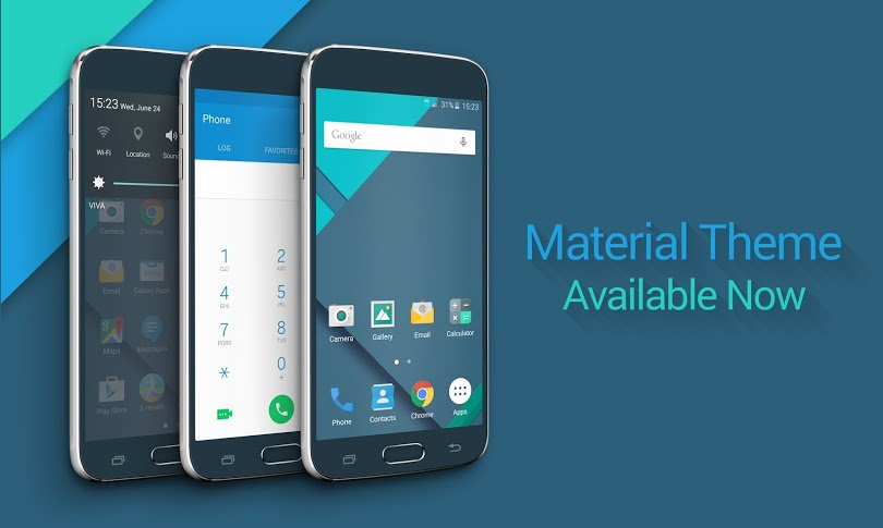 GalaxyS6-material-theme