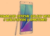 Download Official Galaxy Note 5 Wallpapers & Ringtones