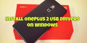 Install OnePlus 2 USB Drivers on Windows