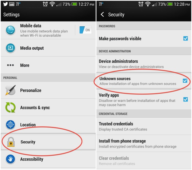 how to install google play on android phone