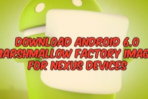 Download Android 6.0 Marshmallow Factory Images For Nexus Devices
