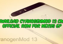 Download CyanogenMod 13 CM13 Official ROM for Nexus 6P