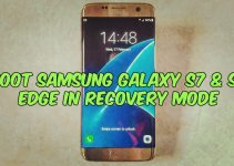 Boot Samsung Galaxy S7 & S7 Edge in Recovery Mode