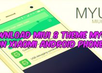 Download MIUI 8 Theme MYUI 8 on Xiaomi Android Phones