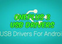OnePlus 3 USB drivers