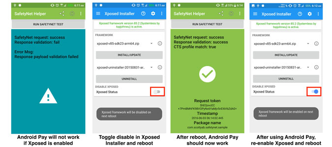 xposed-android-pay