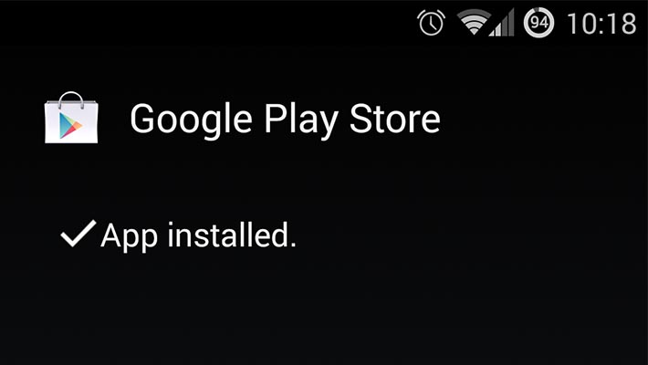 Google-Play-Store-app-installed