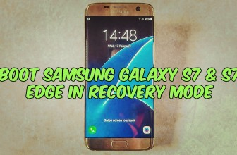 How to Boot Samsung Galaxy S7 & S7 Edge in Recovery Mode