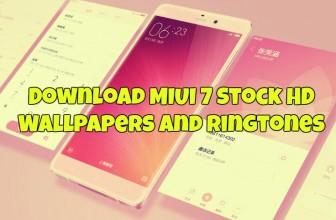 Download MIUI 7 Stock HD Wallpapers and Ringtones
