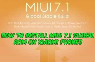 How to Install MIUI 7.1 Global ROM on Xiaomi Phones