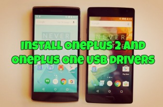 Install OnePlus 2 and OnePlus One USB drivers