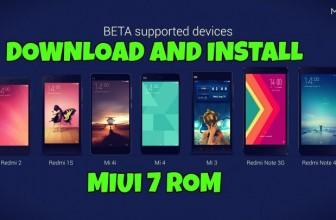 Download MIUI 7 Global Beta ROM for Mi 3, Mi 4, Mi 4i, Redmi 1S (3G), Redmi 2 (4G), Redmi Note (4G), Redmi Note (WCDMA 3G)