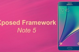 Install Xposed Framework on Samsung Galaxy Note 5